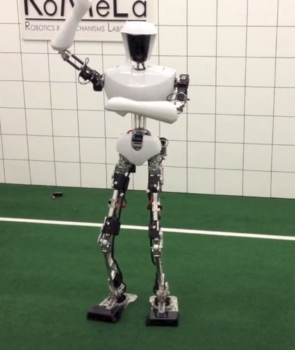 robot gangnam style dance