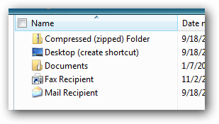send-to-menu-window