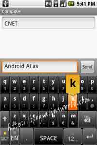 android virtual keyboard