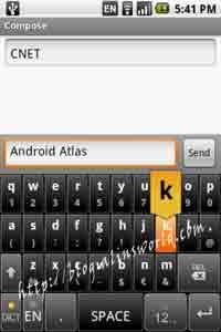 android virtual keyboard